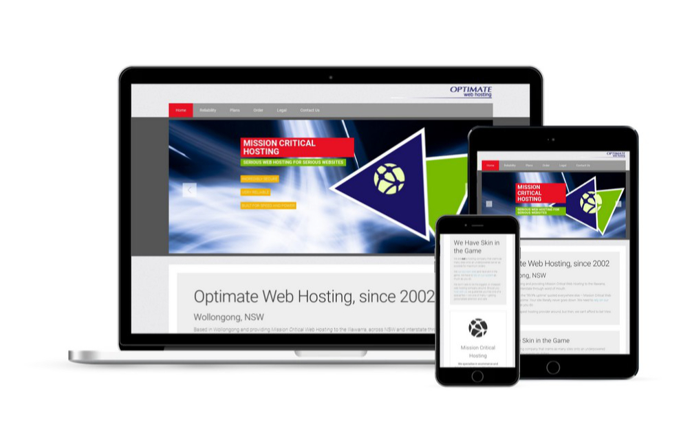 Optimate Web Hosting